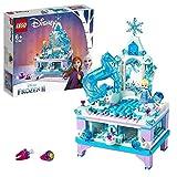 LEGO 41168 Disney Frozen Die Eiskönigin 2 Elsas Schmuckkästchen für Kinder ab 6 Jahre mit ELSA & Nokk Mini-Puppen, Schublade, Spiegel & Drehscheibe