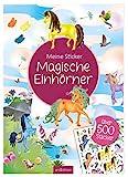 Meine Sticker: Magische Einhörner: Stickerheft für Kinder ab 4 Jahren (Mein Stickerbuch)
