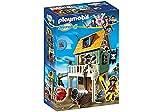 PLAYMOBIL SUPER 4 Camouflage Pirate Fort with Ruby Kinder Baukasten – -Spiele Bau (mehrfarbig)