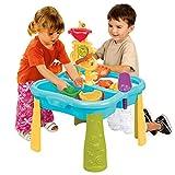 ChengBeautiful Wassertisch Angelsand und Wasserspieltisch für Kinder - Wasser- und Sandspieltischtisch für Innen- und Außenspiele (Farbe : Blau, Size : 72x53x53cm)