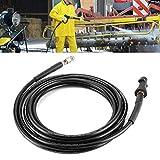 Kanalreinigungsschlauch, Hochdruckreiniger Rohrreiniger Gummi Black Precision für K4 für K2(15 Meter)