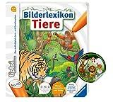 Collectix Ravensburger Tiptpoi Tier-Buch : Bilderlexikon Tiere + Kinder Tier-Sticker | Tierlexikon ab 4 Jahren