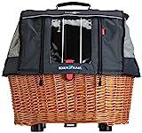 KlickFix Unisex Hundekorb Doggy Basket Plus Gta Hundekorb, Beige, 36 x 52 x 46 cm