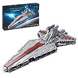 HEID Technik Raumkreuzer Bauset, Sternenzerstörer Modell UCS Super Star Destroyer Klemmbausteine Kompatibel mit Lego Star Wars - 944 Teile