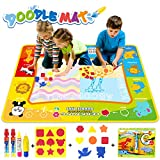Jenilily Wasser Doodle Malmatte 120x90CM Matte Kinder Spielzeug Wassermalbuch 2 3 4 5 6 Jahre alt
