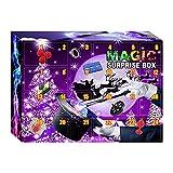 ikasus Adventskalender 2021,Kinder Zauberkasten,Magische Dekompressionsbox 24 Tage Weihnachts Countdown Kalender,Weihnachten Magisches Set Erstaunliche Zaubertricks Requisiten für Kinder Spielzeug