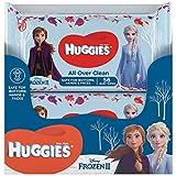 Huggies Baby-Feuchttücher Disney Frozen 2, 10 x 56 feuchte Tücher, Monatsbox