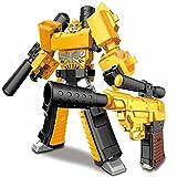 Transformer Spielzeug Bumblebee KO Version Actionfigur für Kinder ab 5 Jahren, 5,9 Zoll