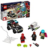 LEGO 76184 Marvel Mysterios Drohnenattacke auf Spider-Man, Superhelden-Spielzeug mit Auto für Vorschulkinder ab 4 Jahren, tolles Geschenk