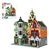 Yayun 7188Pcs Clock Tower Square Architecture Building Blocks Bricks Toy(The Product is not Made and Sold by Lego and Has no Connection with Lego)