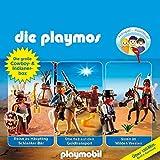 Die große Cowboy- und Indianer-Box. Das Original Playmobil Hörspiel: Die Playmos 21, 32, 35