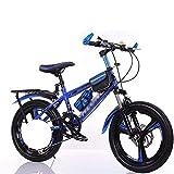 COUYY Kinderfahrräder für Jungen und Mädchen 18 20 22 24 Zoll Primär- und Mittelschule Studenten Fahrrad Mountainbike Variable Geschwindigkeit Fahrrad,Blau,18