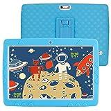 SANNUO Kinder Tablet 10 Zoll, Android 10.0 3GB RAM 32GB ROM, 3G Dual SIM,1280 * 800 IPS Display,2MP+5MP Kamera,GPS, WiFi,Bluetooth,Tablet für Kinder mit kindgerechter Hülle, blau