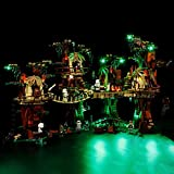 Sungvool LED-Beleuchtungsset für Lego Star Wars 10236 Ewok Village, luxuriöses dekoratives Lichtset für Lego 10236 (ohne Lego-Modell)