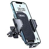 andobil Handyhalterung Auto Lüftung [Stabil & Never Fall] Patent Design mit 2 Lüftungsclips [Flexible & Freie Aussicht] 360° Drehbar KFZ Handyhalterung für Alle Smartphones, z.B iPhone Samsung Huawei
