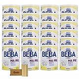 Nestlé BEBA EXPERT HA PRE Hydrolysierte Anfangsnahrung: Säuglingsnahrung von Geburt an, mit LCP (Omega 3) - ab 4x800g mit Stifte-Minibox (4x800g) (24x800g)