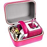 PAIYULE Tasche für Toniebox Starterset und Tonies Hörfiguren, Ordnungsbox Musical Organizer Aufbewahrungsbox für viele Tonies, Kinderkopfhörer Tonie -Nur Box(Rosa)