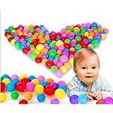 Babybälle für Kleinkinder Baby, 5,5 cm Bunte Pitballs, Schwimmgruben-Spielzeugball Baby-Kinder-Plastikball-Ballspielzeug-Schwimmspaß-Ozeanball mit phthalatfreiem BPA-freiem Crush-Proof (20 pcs)