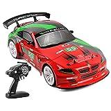 Lommer Ferngesteuertes Auto, 2.4G 4WD 70KM/H RC Auto 1:10 Funkfernsteuerung Elektro Drift Car Ferngesteuertes Offroad Buggy Spielzeug Geschenk für Kinder und Erwachsene