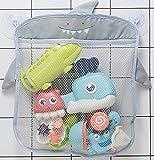 Badespielzeug-Aufbewahrung, Baby-Spielzeug-Organizer, Badezimmer-Hänge-Netz-Taschen-Halter für Babywannen-Spielzeug