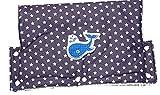 Kinderwagenmuff, Handwärmer, Kinderwagen Handschuh, Handmuff, Kinderwagen, Walfisch, Nordsee, Buggy Handschuh, C-Fashion-Design (Blau Segelboot)