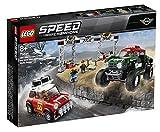 Lego 75894 Speed Champions Rallyeauto 1967 Mini Cooper S und Buggy 2018 Mini John Cooper Works, Automodelle zum Sammeln