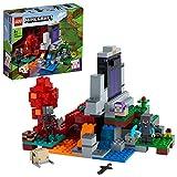 LEGO 21172 Minecraft Das zerstörte Portal Minecraft Spielzeug Set ab 8 Jahre mit Figuren aus dem Videospiel