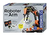 KOSMOS Roboter-Arm, Modellbausatz für deinen elektrischen Roboterarm, mit 5 Motoren und Steuereinheit, Einführung in die Welt der Robotik, Experimentierkasten