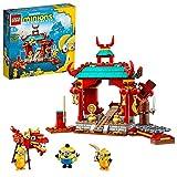 Lego 75550 Minions Kung Fu Tempel, Spielzeug für Kinder ab 6 Jahre mit Figuren: Otto, Kevin und Stuart