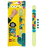 LEGO 41922 DOTS Kaktus Armband Bastelset für Kinder, Set zum Basteln eines Kinderarmbands