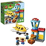 LEGO 10871 DUPLO Flughafen, Bauset mit Flugzeug für Kinder ab 2 Jahre