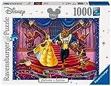 Ravensburger Puzzle 19746 - Disney Die Schöne und das Biest- 1000 Teile Puzzle für Erwachsene und Kinder ab 14 Jahren, Disney Puzzle des bekannten Film-Klassikers