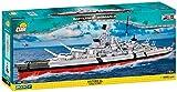 COBI 4819 Battleship Bismarck Toys, Grau, Schwarz, Rot