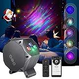 LED Sternenhimmel Projektor Joycabin Aurora Projektor mit Fernbedienung Sternenlicht Projektor Lamp Rotierende Sterne Nachthimmel Licht mit Musikspieler/Timer für Kinder Erwachsene Party Dekoration