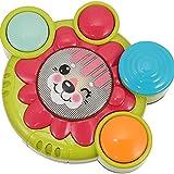 Tastak Baby Musikspielzeug Kinder Trommel Musik Rassel Ring Spielzeug Kleinkind Löwe Handschlag Trommel Entwicklung Musikspielzeug Lernen sensorisches Spielzeug