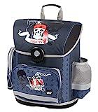 baagl Schulranzen Jungen 1. Klasse - Ergonomische Schultasche für Kinder - Grundschule Ranzen - Schulrucksack mit Brustgurt (Piraten)