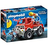 Playmobil City Action 9466 Feuerwehr-Truck mit Licht- und Soundeffekten, Ab 4 Jahren