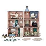 Sylvanian Families 5504 Deluxe Mehrfamilienhaus Geburtstagsset Puppenhaus - Puppenhaus