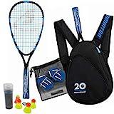 Speedminton Jubiläumsset (S800) Limitiertes Speed Badminton/Crossminton Allround Set inkl. 4 Speeder®, Spielfeld, Tasche