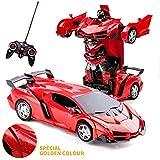 Transformator Ferngesteuertes Auto Transformers Toys 2 in 1 Ferngesteuertes Auto für Kinder Auto Spielzeug für Jungen im Alter von 5-12 Deformation Roboter RC Auto für Kinder Jungen Mädchen