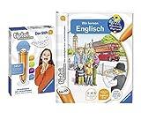 tiptoi Ravensburger Englisch Buch   Wir Lernen Englisch + Ravensburger 00801 Stift - mit Aufnahmefunktion