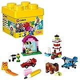 LEGO 10692 Classic Bausteine-Set, Bauset mit Aufbewahrungsbox, bunt (221 Teile)
