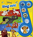 Disney - Sing mit! - Liederbuch mit Sound -Pappbilderbuch mit 6 Melodien für Kinder ab 3 Jahren