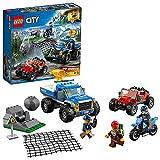 LEGO 60172 City Police Verfolgungsjagd auf Schotterpisten