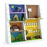 Schaufenster für LEGO Minifiguren, Spielzeug-Display für Kinder, für Action-Figuren, Funky Pop, Sammelobjekt, Geschenke für Kinder – 667 Teile