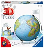 Ravensburger 3D Puzzle 11159 - Globus in deutscher Sprache - 3D Puzzle für Erwachsene und Kinder ab 10 Jahren