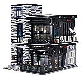 KEAYO Bausteine Haus, Mould King 16042, 3992 Teile Modular Bar Modellbausatz mit Beleuchtung, Klemmbausteine Gebäude Modell Kompatibel mit Lego Haus