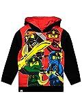 Lego Ninjago Jungen Lego Ninjago Sweatshirt Rot/schwarz(8)