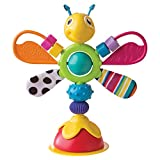 TOMY Lamaze LC27243 Lamaze Babyspielzeug 'Freddie, das Glühwürmchen' Mehrfarbig, Hochwertiges Hochstuhlspielzeug, Rassel und Greifling, Förderung der Motorik, Hochstuhl Spielzeug, Ideales Weihnachtsgeschenk, ab 6 Monaten