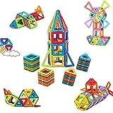 McDou Magnetische Bausteine, Mini Magnetische Bauklötze,Magnetische Konstruktionsbausteine,Tolles Geschenk Magnetspielzeug Lernspielzeug für Baby,Kleinkinder ab 3 Jahre (80PCS)